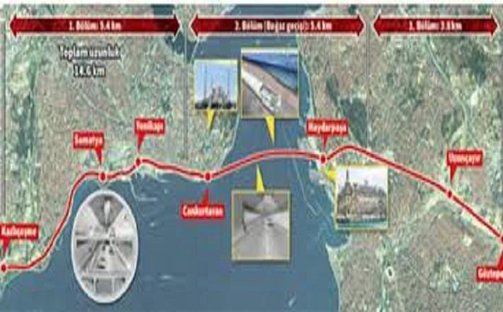 Avrasya Tüneli Güzergahı Neresi? Avrasya Tüneli Nerden Geçecek?