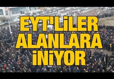 Son Dakika…..EYT'liler bugün Tandoğan'da buluşuyor