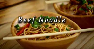 Beef Noodle Tarifi... Çin Usulü Noodle (Makarna) Tarifi